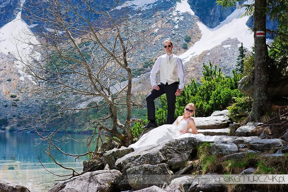 zdjęcia ślubne w górach fotograf Zakopane