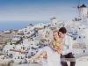 Santorini sesja ślubna