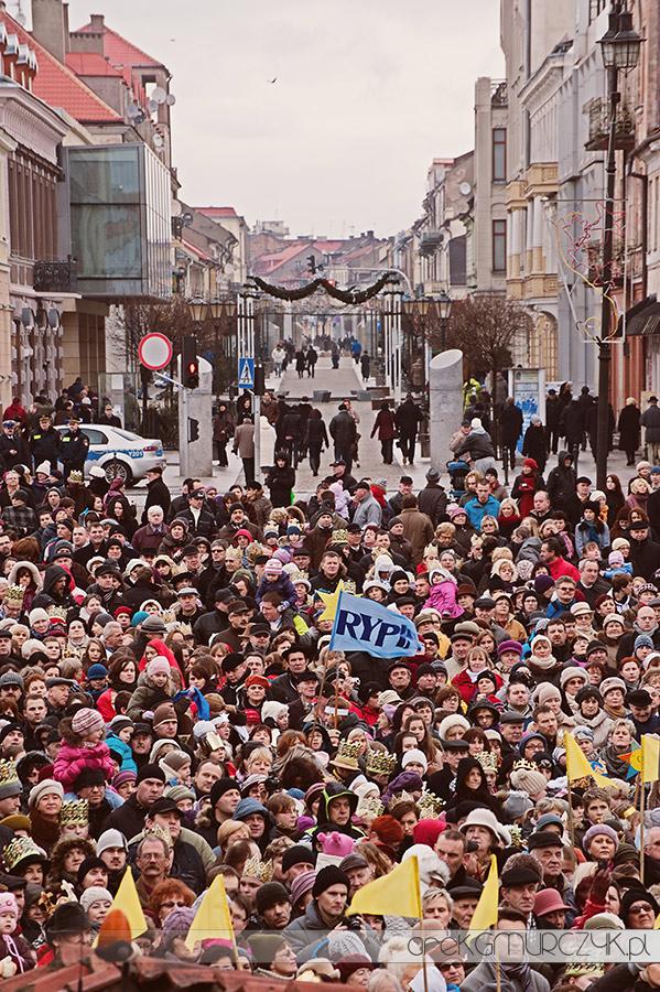 Orszak Trzech Króli w Płocku
