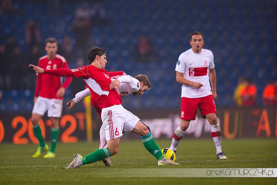 piłka nożna Polska-Węgry 2:1
