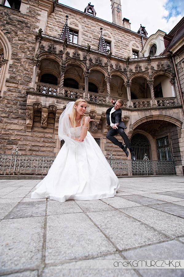 Płock fotografia ślubna plener slubny w pałacu