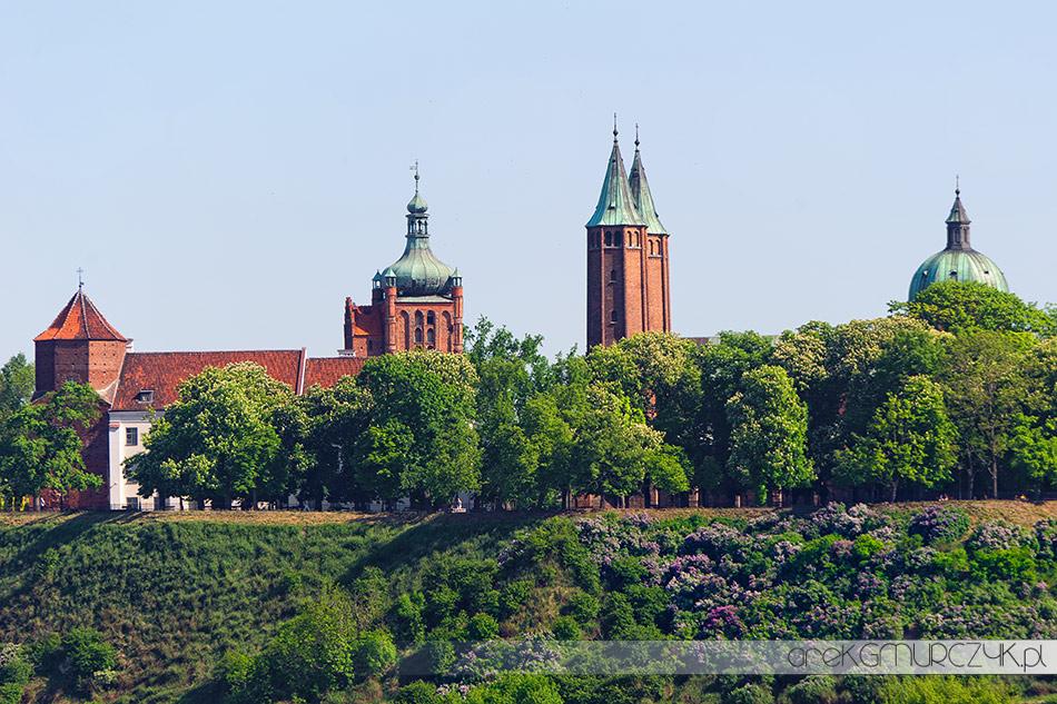 Wzgórze Tumskie Zamek Płock Bazylika Katedralna