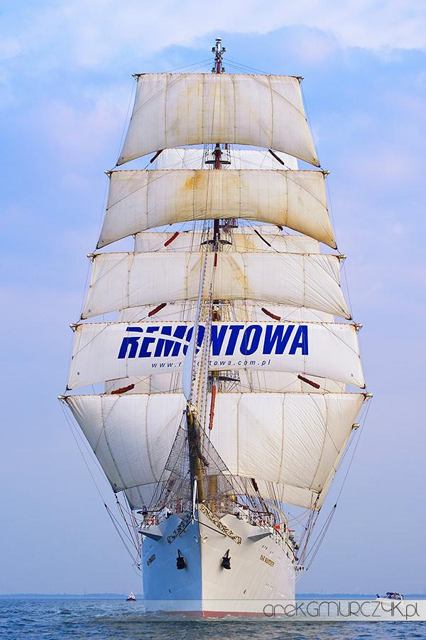 Dar Młodzieży zdjęcia regaty Gdynia fotograf