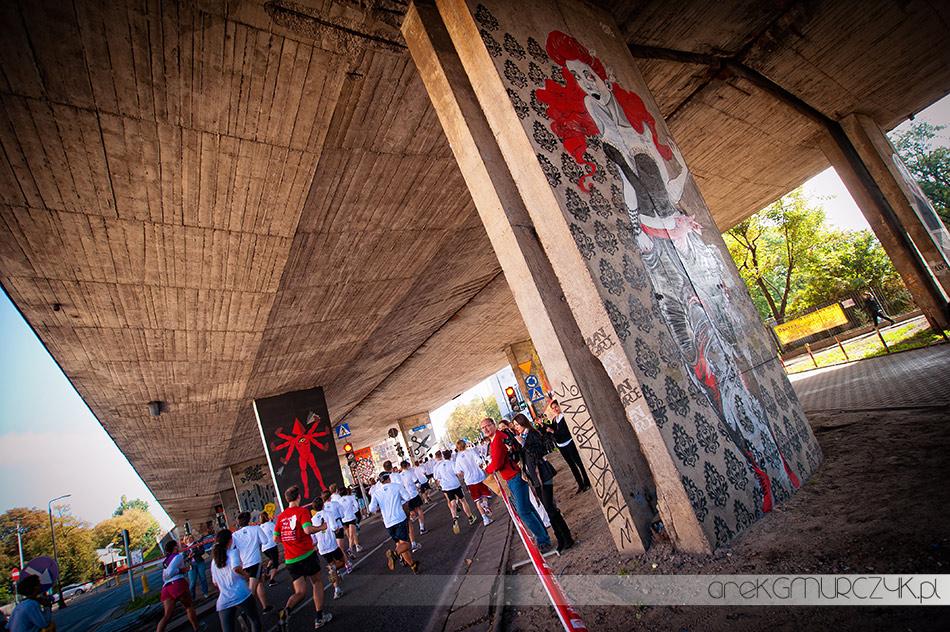 Fotografie z Biegnij Warszawo 2011