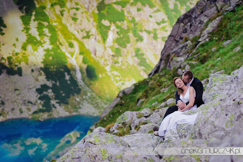 fotografia ślubna Płock, plener w Tatrach
