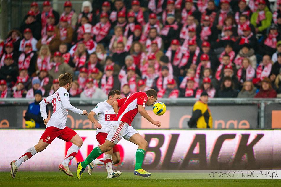 fotograf Płock mecz Polska-Węgry 2:1 Poznań 2011