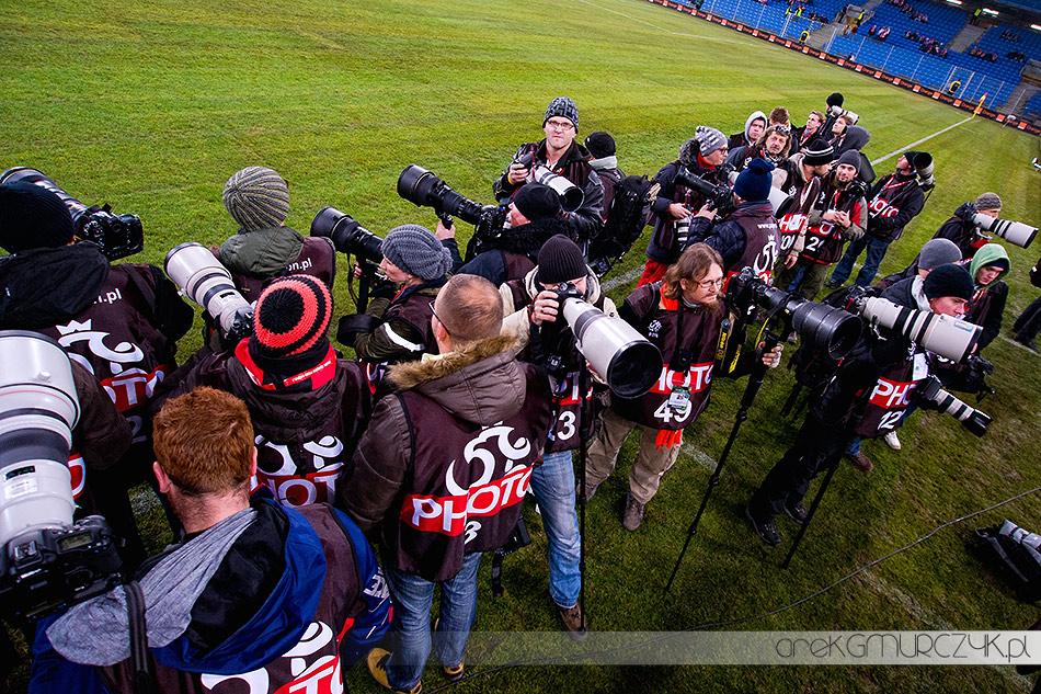 fotograf sportowy piłka nożna mecz Polska-Węgry