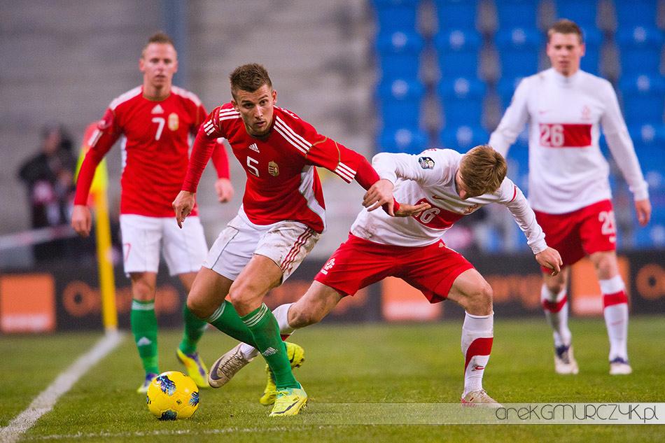 fotograf sportowy mecz Polska-Węgry 2:1