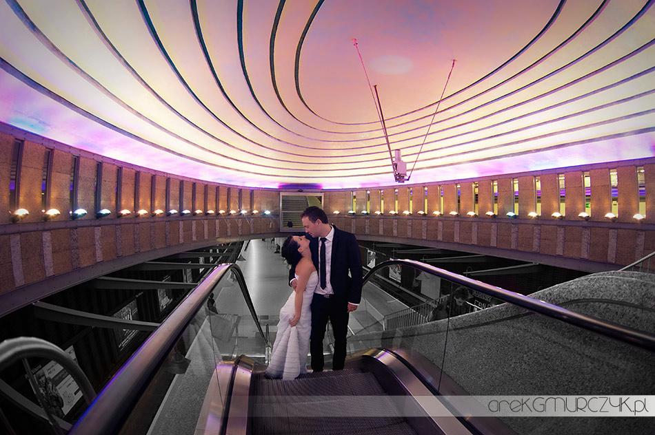 sesja ślubna metro
