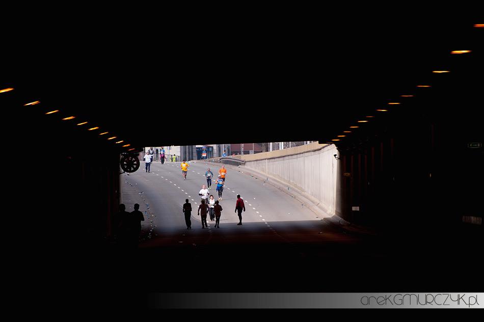 tunel wisłostrada 7 półmaraton warszawski