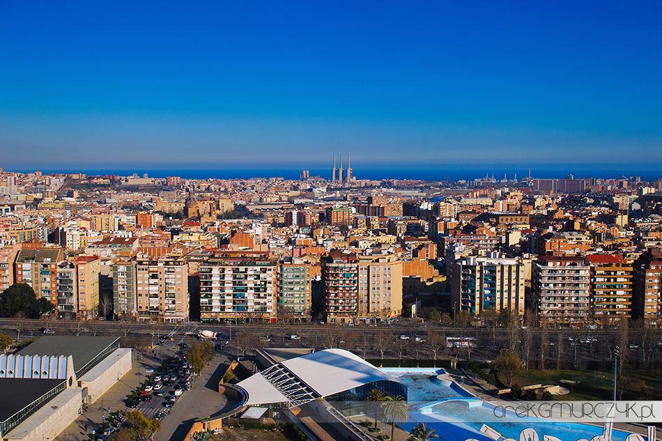 widok z biura softonic w barcelonie