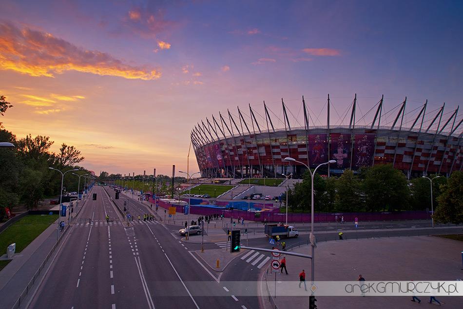 Euro 2012 Stadion Narodowy w Warszawie