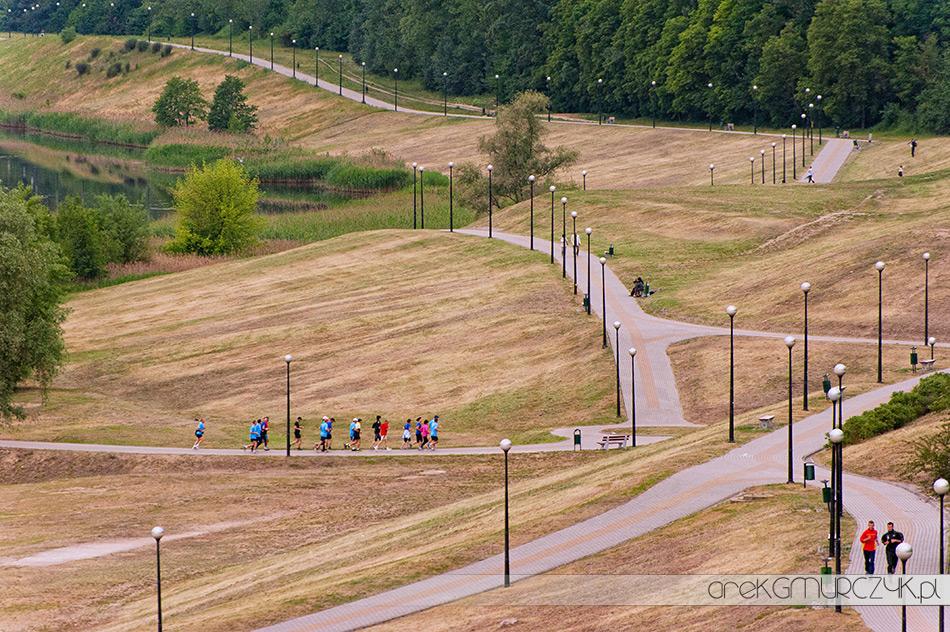 ścieżki biegowe Płock