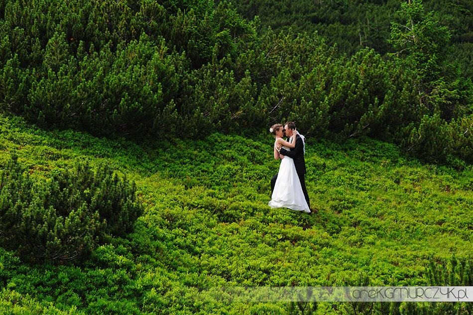 plener ślubny w górach tatry kasprowy wierch