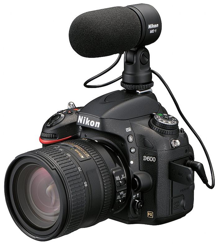 Nikon D600 + Nikon ME-1