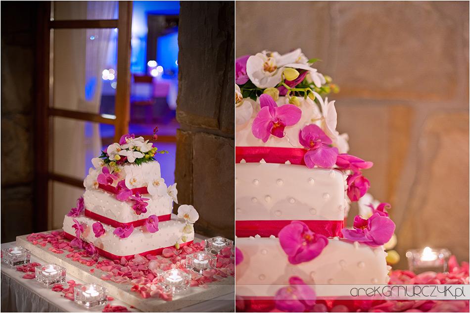 tort weselny w hotelu belvedere w zakopanem