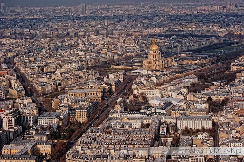 Les Invalides Pałac i Kościół Inwalidów