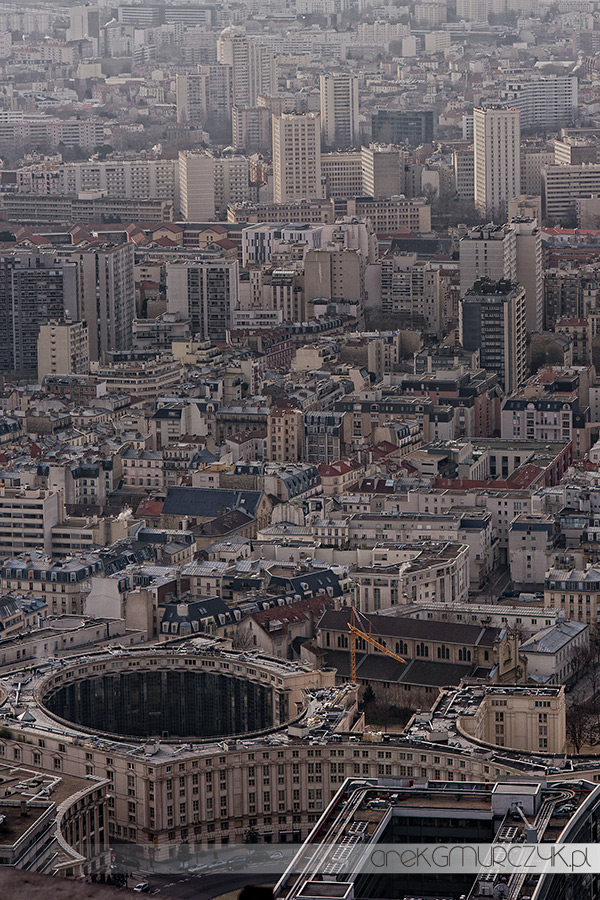 Zdjęcia Paryża z lotu ptaka