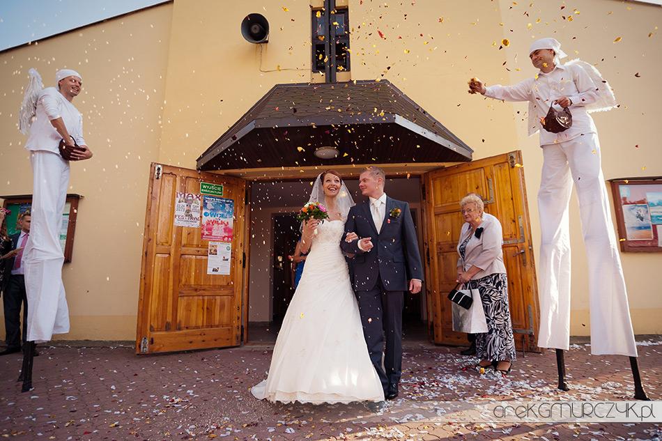 ślub kościół międzyotorze