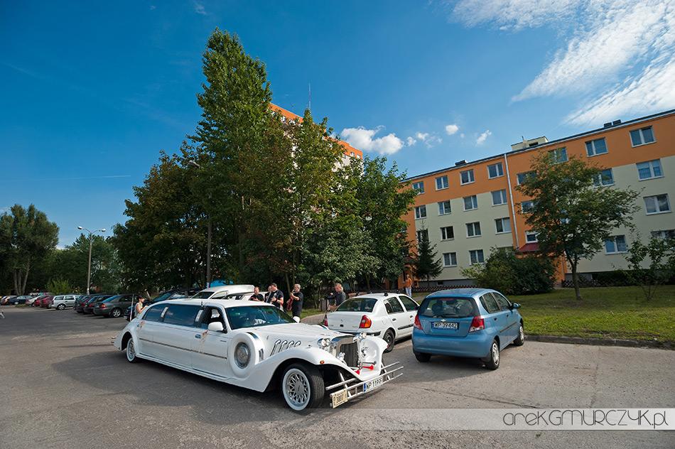 samochód na ślub płock