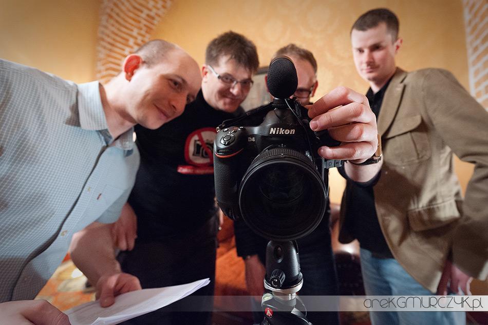 Nikon D4 konferencja nps ryn