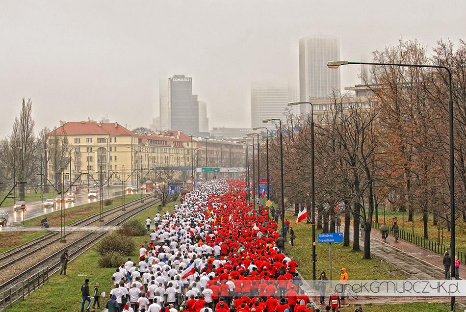 Bieg Niepodległości w 2009r.