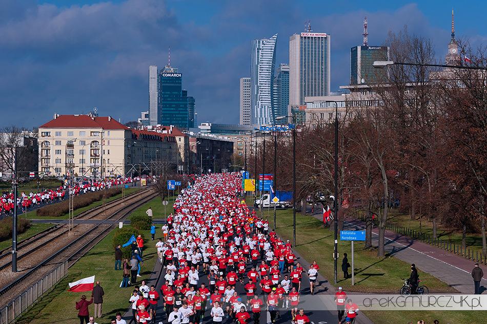 bieg niepodległości 2013 Warszawa