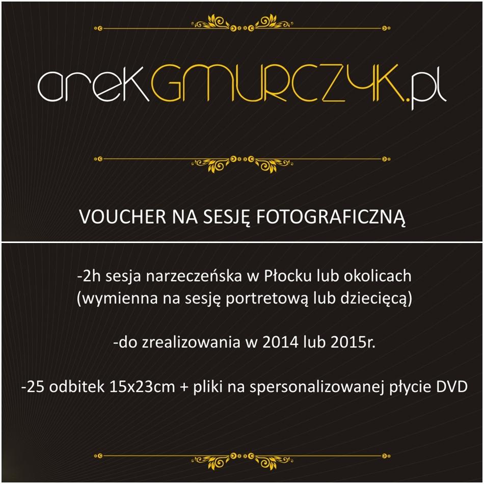Płock, Voucher na sesję fotograficzną. Plener lub studio.