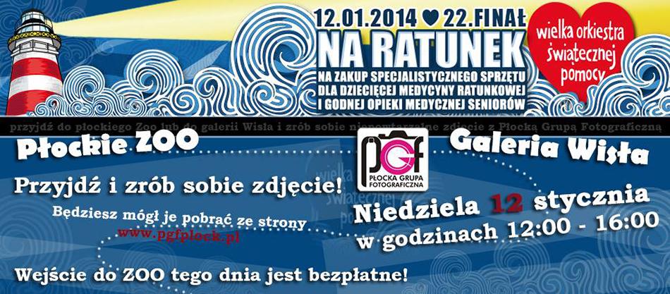 WOŚP 2014 w Płocku z PGF