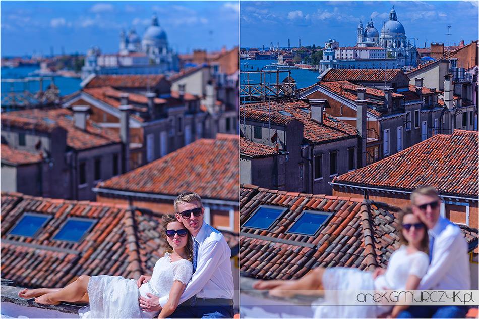 piękne dachy Wenecji