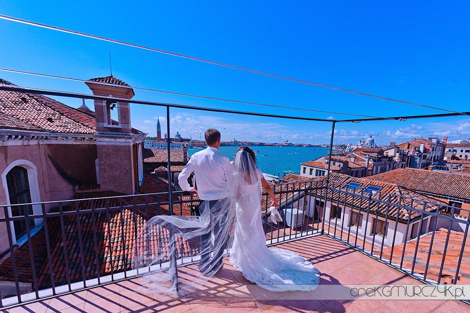 panorama pięknej Wenecji