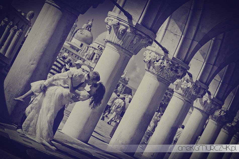 plener ślubny w wenecji
