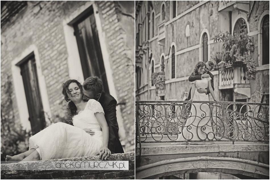 ślub w wenecji