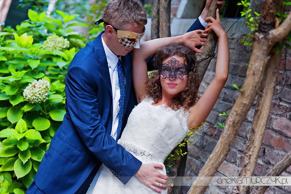 piękne zdjęcie ślubne wenecja