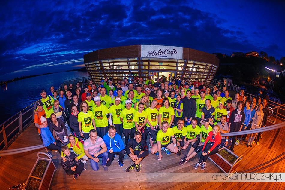Night Runners otwierają biegowo płocką kawiarnię na molo