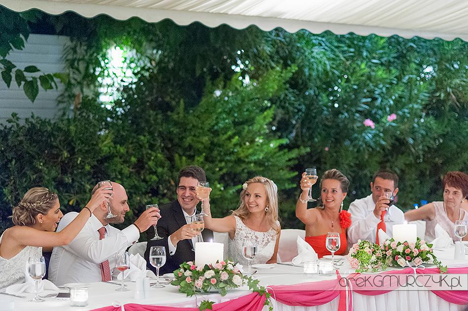 wesele na dworze