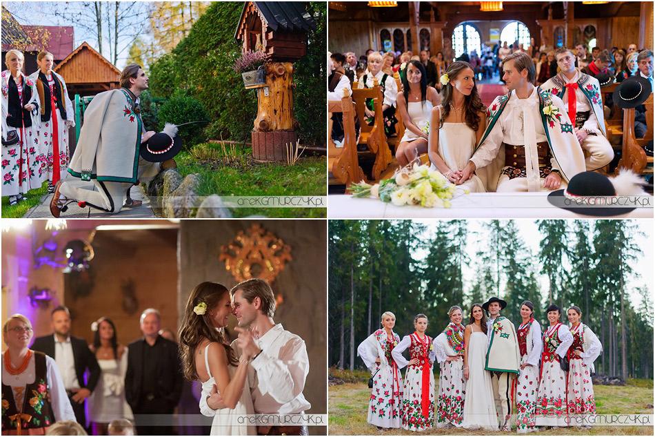 Zdjęcia ślubne, fotograf Zakopane