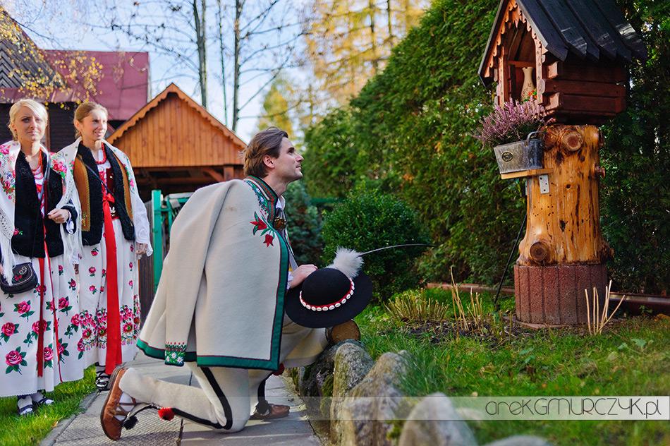 tradycyjne wesele w górach