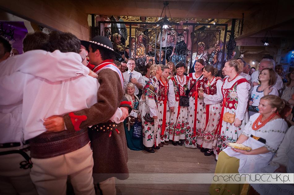 tradycje na weselu w górach