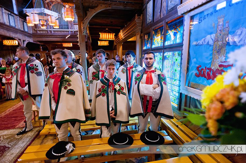 tradycyjny ślub góralski