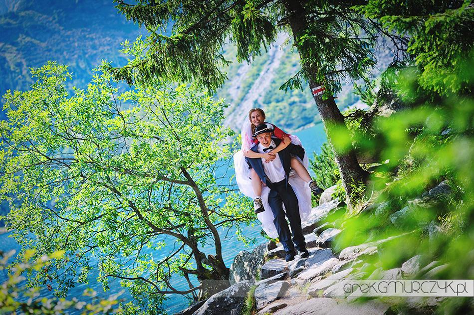 zdjęcia ślubne góry