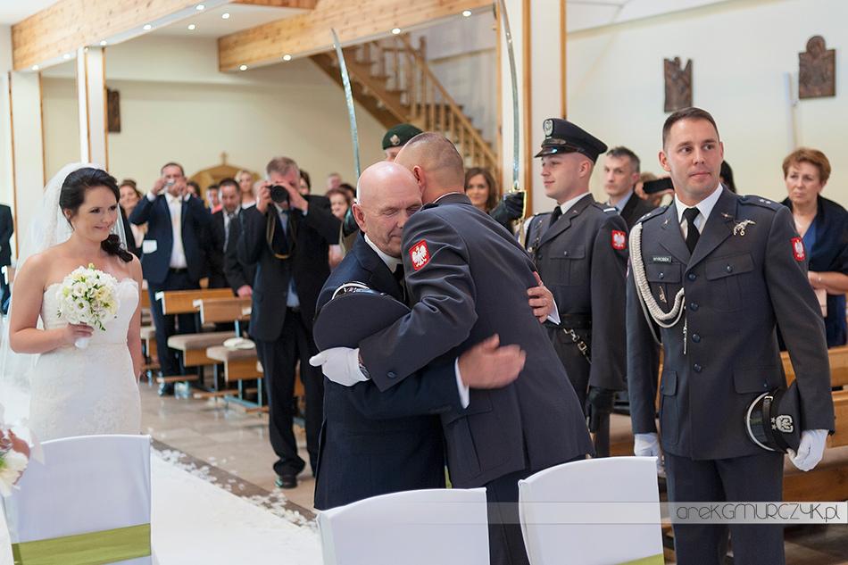 fotograf na ślub wojskowy