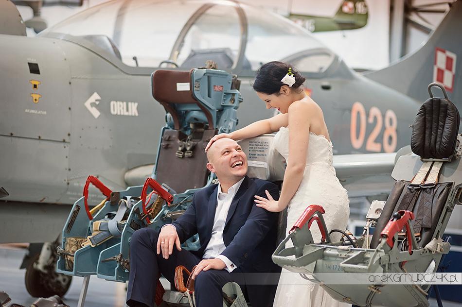 sesja ślubna w wojsku