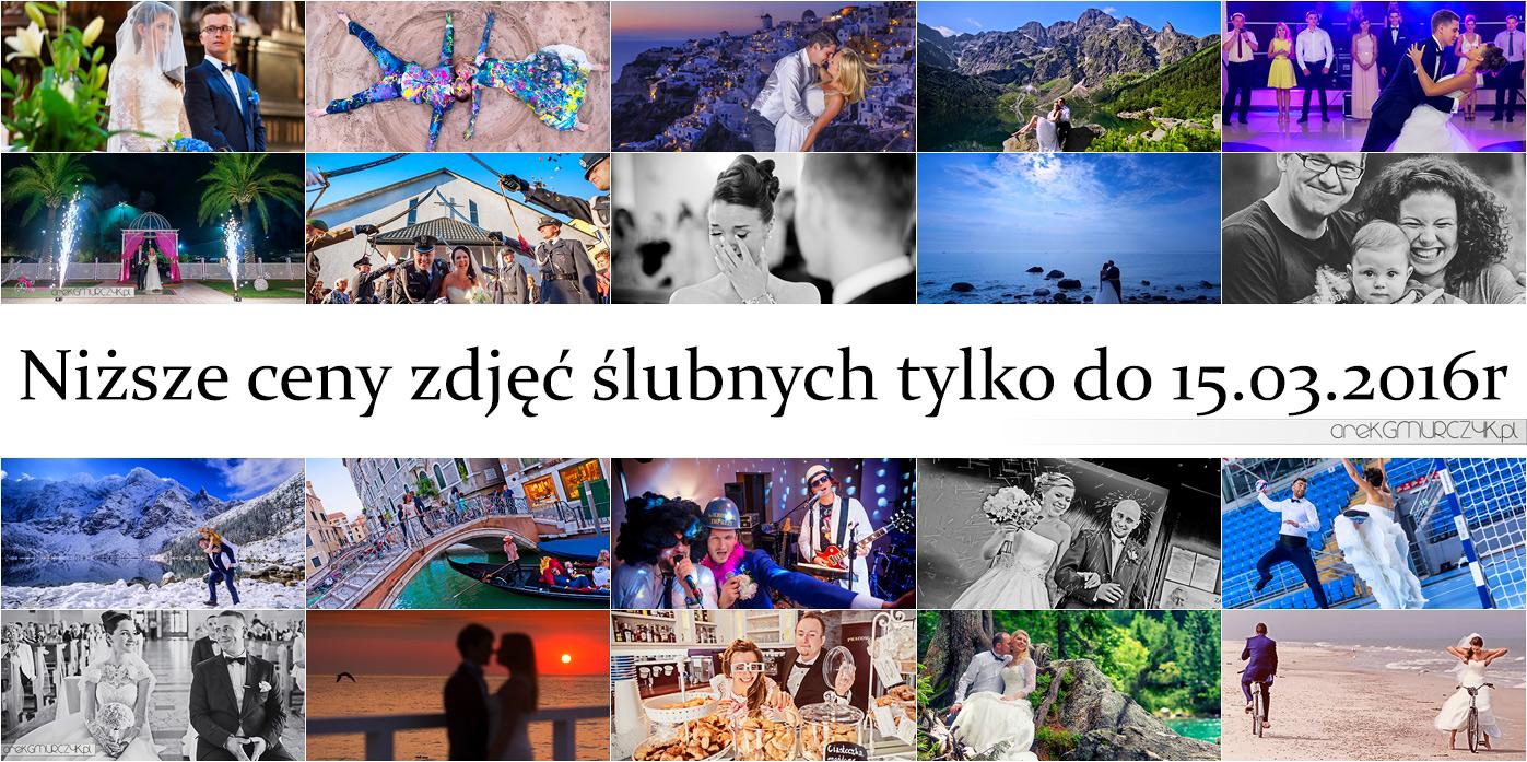 oferta fotografia ślubna, Płock 2016r