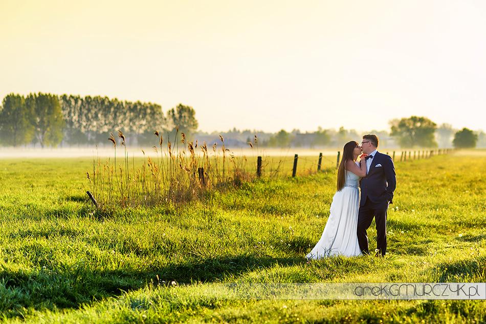 sesja ślubna na Mazurach