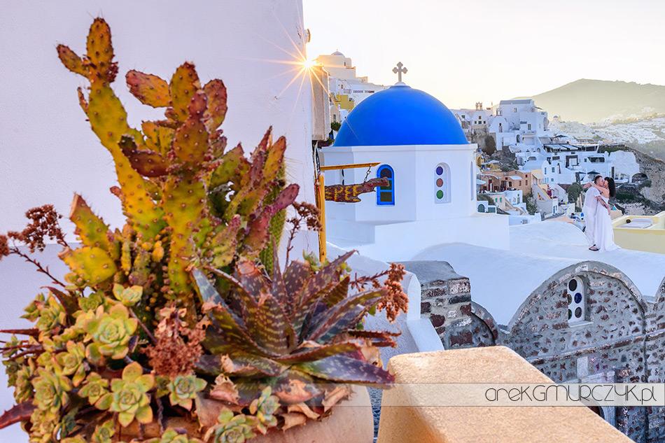 zdjęcia ślubne na Santorini