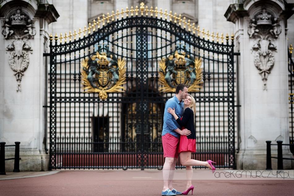 londyn Buckingham Palace