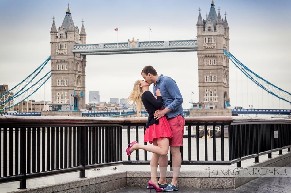 tower bridge zdjęcia ślubne