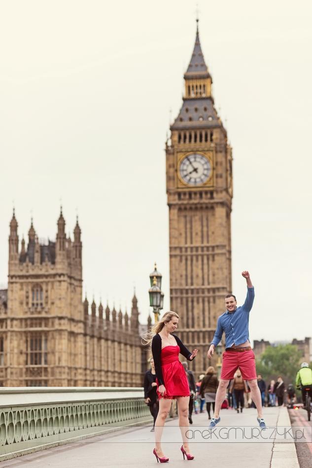 narzeczeńska sesja Londyn