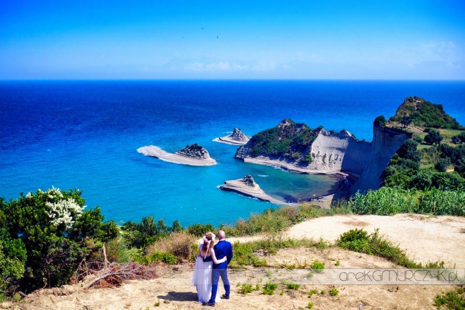 zdjęcia ślubne w Grecji